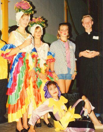G1986 - 1987-##-## Foto Spanien Kostüme -b